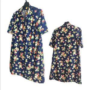 Adorable Vintage Button Down Dress